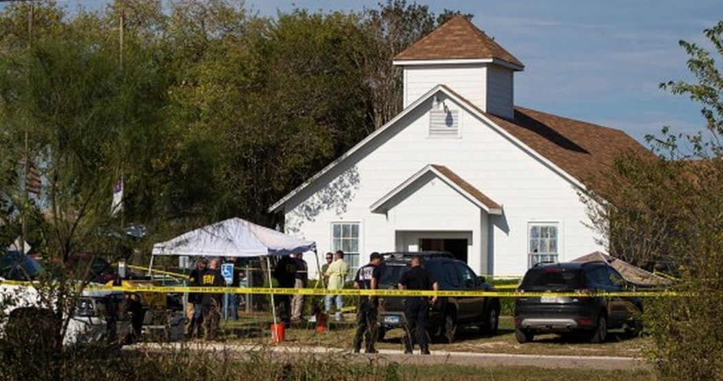 Christ Church Shooting Photo: Christianity Is The Most Persecuted Religion... Texas