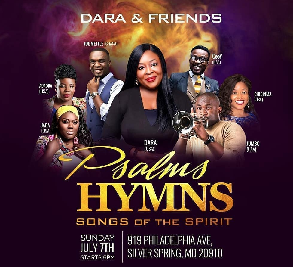 Dara & Friends: 'Psalms Hymns & Songs of the Spirit'   Step